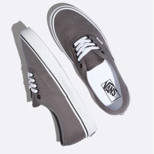 Vans Authentic gray sneakers